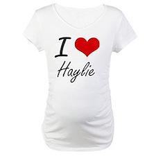 I Love Haylie artistic design Shirt