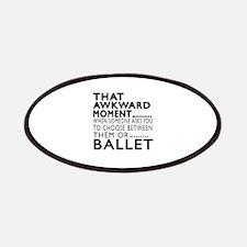 Ballet Dance Awkward Designs Patch