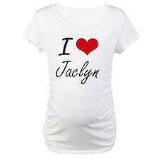 I Love Jaclyn artistic design Shirt
