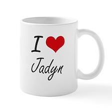 I Love Jadyn artistic design Mugs