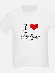 I Love Jaelynn artistic design T-Shirt