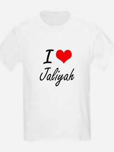 I Love Jaliyah artistic design T-Shirt