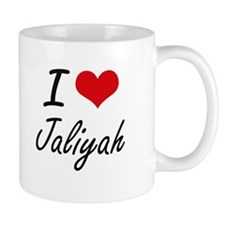 I Love Jaliyah artistic design Mugs