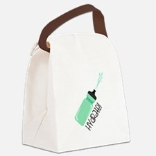 Hydrate Bottle Canvas Lunch Bag