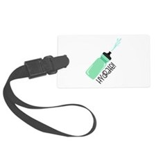 Hydrate Bottle Luggage Tag