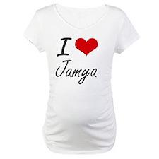 I Love Jamya artistic design Shirt