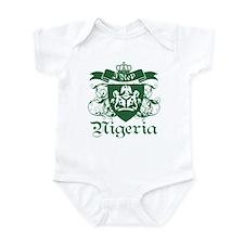 I rep Nigeria Infant Bodysuit