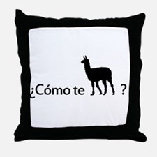 como te llama Throw Pillow
