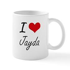 I Love Jayda artistic design Mugs