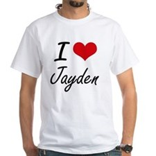 I Love Jayden artistic design T-Shirt