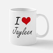 I Love Jayleen artistic design Mugs