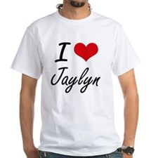 I Love Jaylyn artistic design T-Shirt