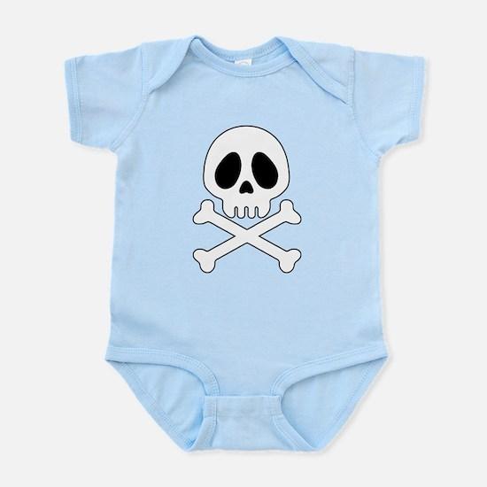 Galactic pirate skull Body Suit