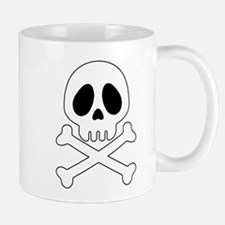Galactic pirate skull Mugs