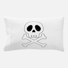 Galactic pirate skull Pillow Case