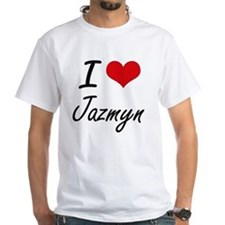 I Love Jazmyn artistic design T-Shirt