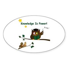 Teaching Wise Owl Decal