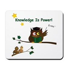 Teaching Wise Owl Mousepad