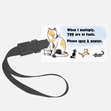 Spay & neuter Luggage Tag