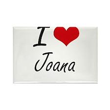 I Love Joana artistic design Magnets