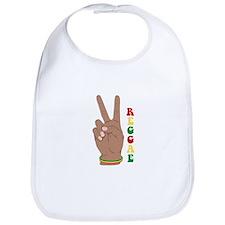 Peace Reggae Bib