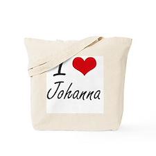 I Love Johanna artistic design Tote Bag