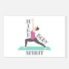 Mind Body Spirit Postcards (Package of 8)