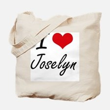 I Love Joselyn artistic design Tote Bag