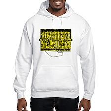 Modular Synth Yellow/Black Hoodie
