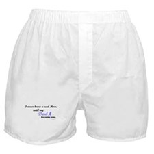 Never Knew A Hero PC (Dad) Boxer Shorts