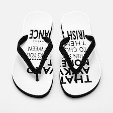 Irish Stepdance Dance Awkward Designs Flip Flops