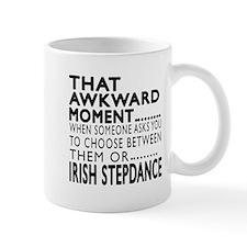 Irish Stepdance Dance Awkward Designs Mug