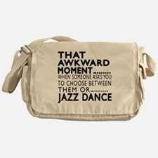 Jazz Dance Awkward Designs Messenger Bag