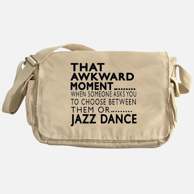 Jazz Dance Awkward Designs Messenger Bag