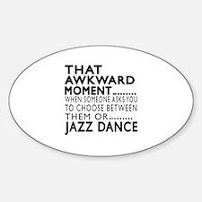 Jazz Dance Awkward Designs Decal