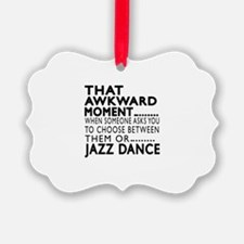 Jazz Dance Awkward Designs Ornament