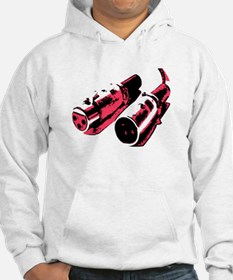 Black/Red Jumper Hoody