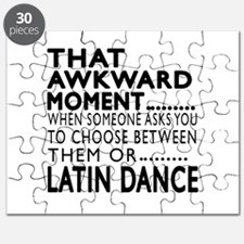 Latin Dance Awkward Designs Puzzle