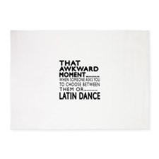 Latin Dance Awkward Designs 5'x7'Area Rug
