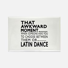 Latin Dance Awkward Designs Rectangle Magnet