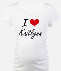 I Love Kaitlynn artistic design Shirt