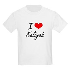 I Love Kaliyah artistic design T-Shirt