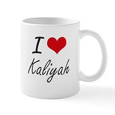 I Love Kaliyah artistic design Mugs