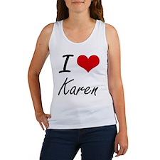 I Love Karen artistic design Tank Top