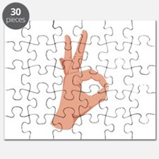 Okay Hand Sign Puzzle