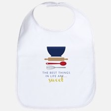 Best Things Are Sweet Bib