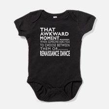 Renaissance Dance Awkward Designs Baby Bodysuit