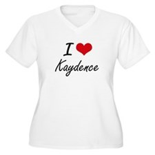 I Love Kaydence artistic design Plus Size T-Shirt