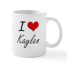 I Love Kaylen artistic design Mugs