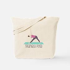 Triangle Pose Tote Bag